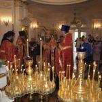 Свято жон - мироносиць в Благовіщенському храмі.