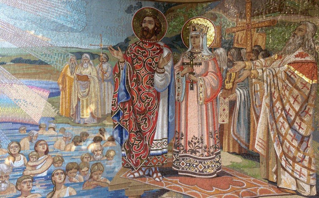 князь владимир крещение картинки улавливающего тупика рассчитывается